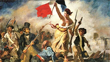 Liberty Leading the People (1830) by Eugène Delacroix.