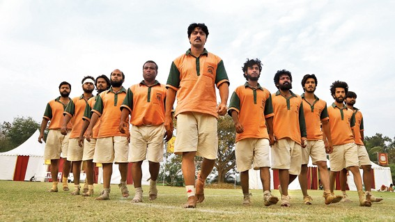 Golondaaj is a sports drama based on Nagendra Prasad Saradhikari, the father of Indian football.