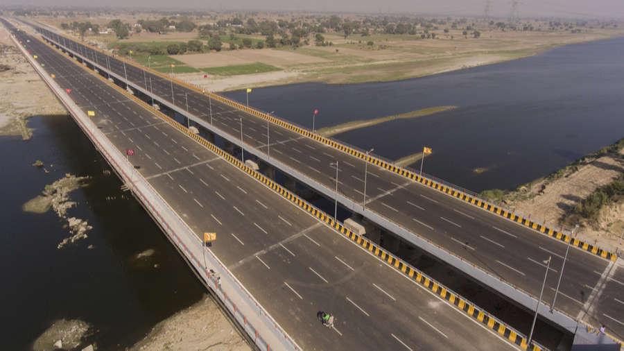 Yamuna Expressway.