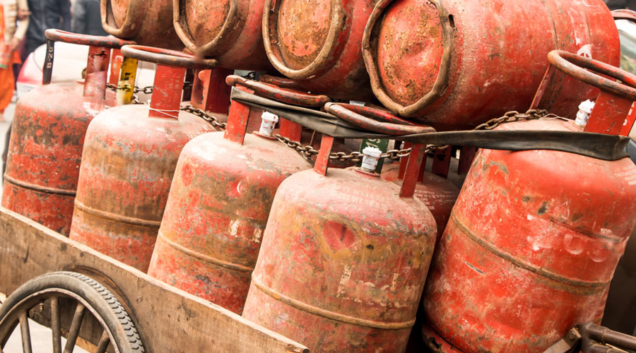 The government gives 12 cooking gas (LPG) cylinders of 14.2-kg each to households in a year at a subsidised rate