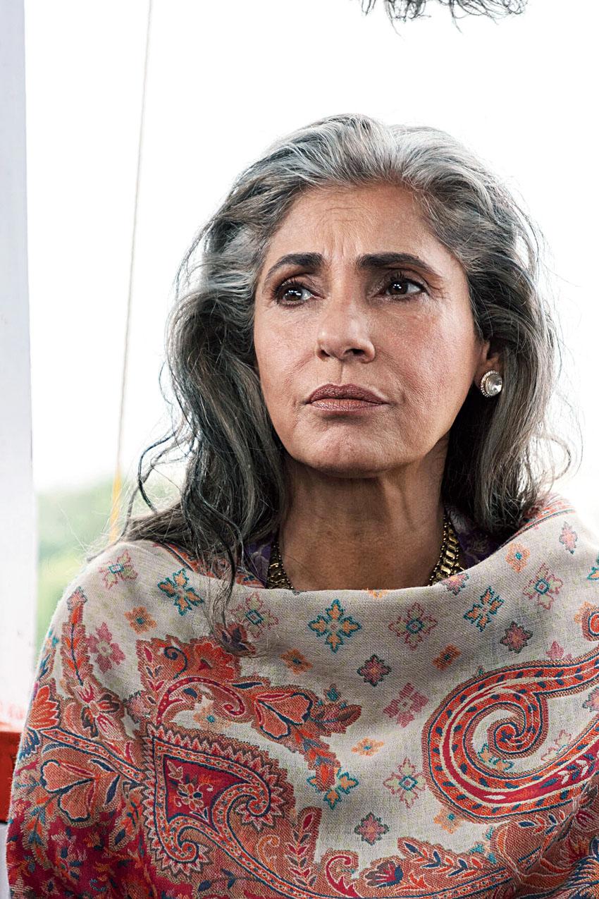 Dimple Kapadia as Priya in Tenet