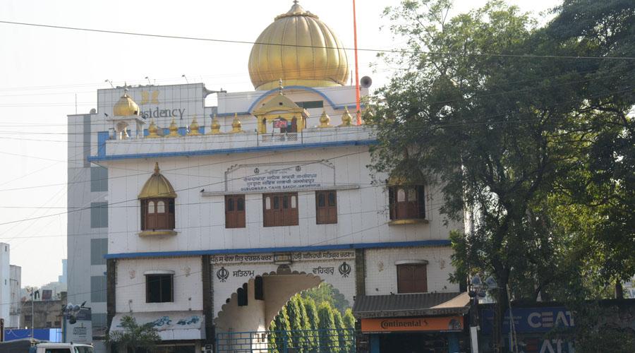 The central Gurudwara at Sakchi in Jamshedpur on Sunday.