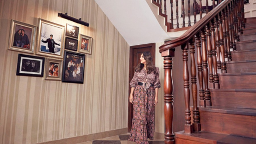 "Gauri described the ""refurbished"" space as a personal one, filled with memories"
