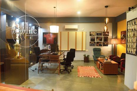 Glimpses of Saurav's office