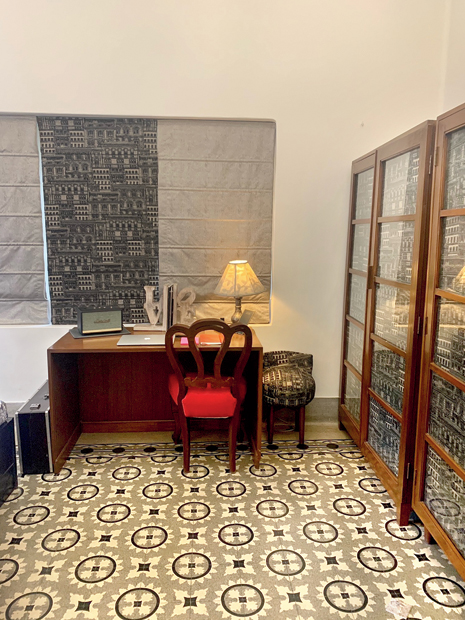 Eshaani's workstation