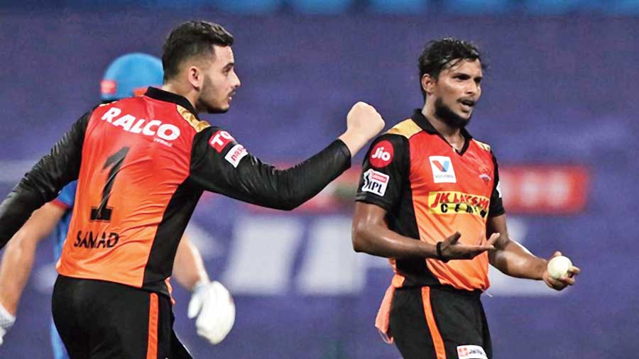 Indian Premier League (IPL): Yorker specialist Thangarasu Natarajan who can  deliver at will - Telegraph India