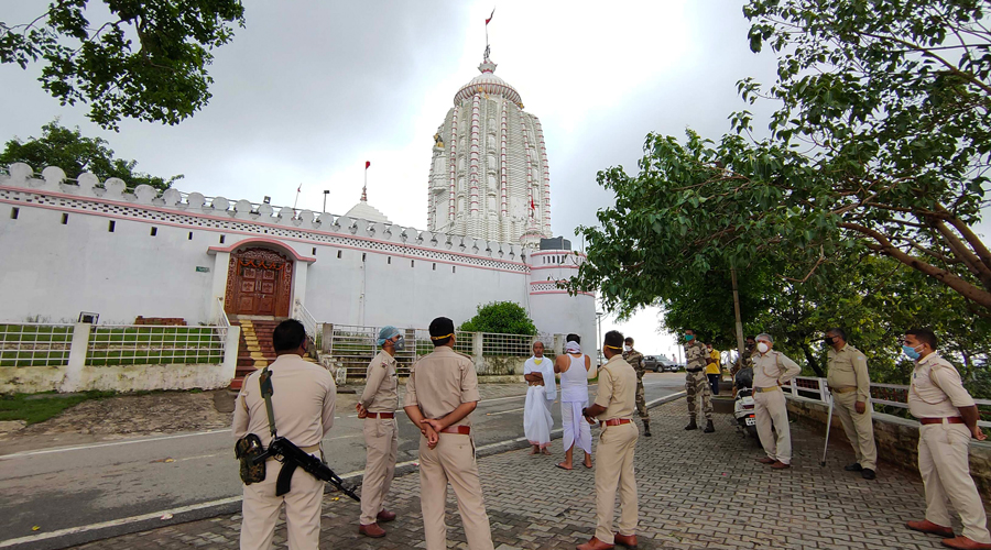 The Jagannath temple at Dhurwa in Ranchi.