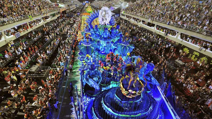 Rio de Janeiro Carnival in 2013