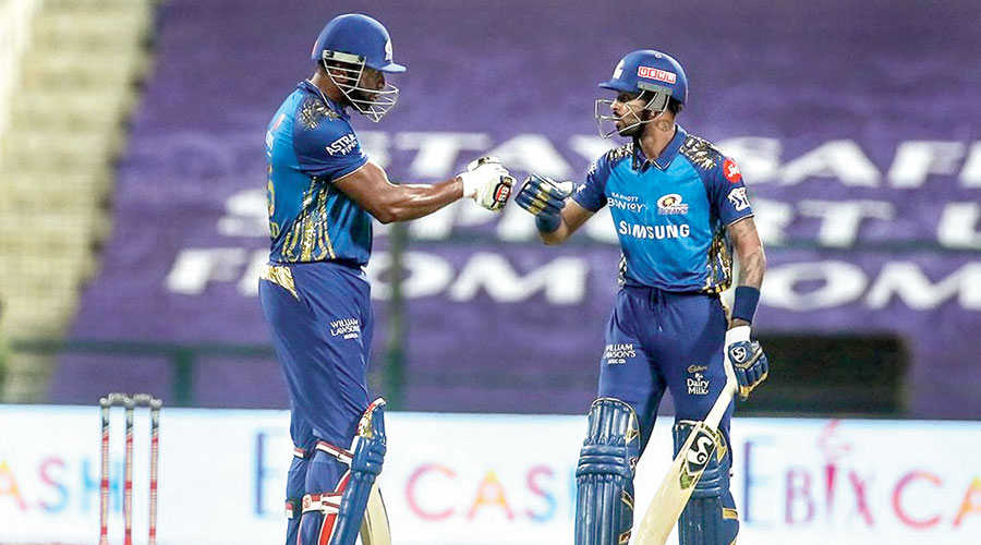 Rohit's class, Pollard and Hardik's power give MI 48-run win