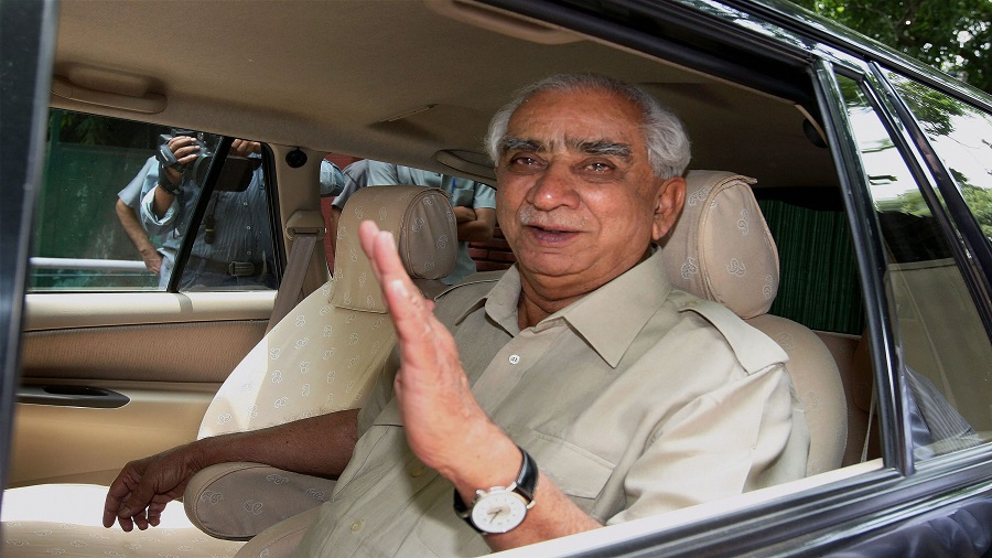 File photo, dated July 24, 2012, of former Union Minister Jaswant Singh after an NDA meeting in New Delhi.