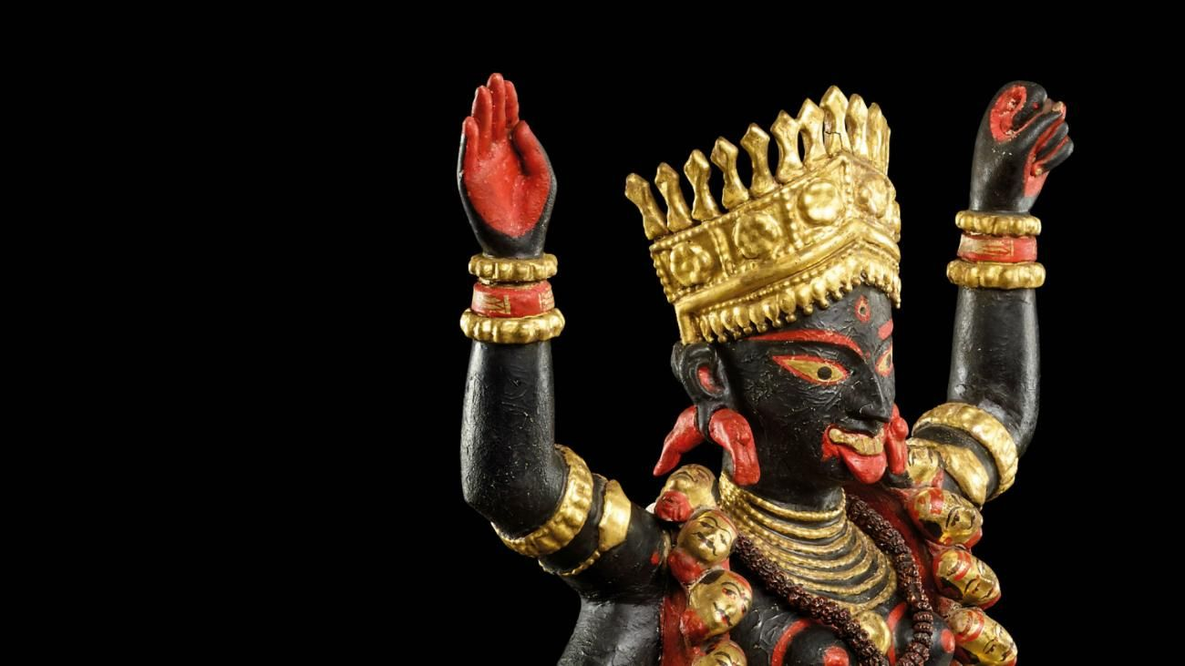 An artefact from the exhibition, Tantra: enlightenment to revolution.
