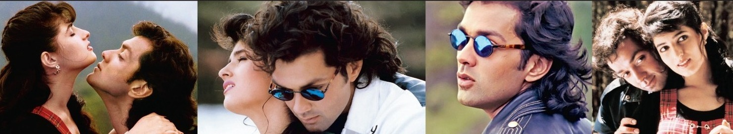 Bobby Deol and Twinkle Khanna in Barsaat