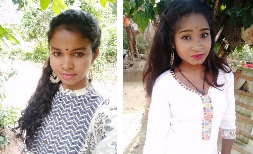 (L-R) Laxmi Besra and Laxmi Munda