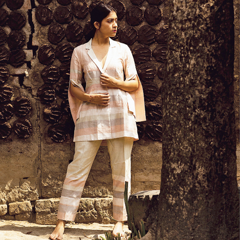 We are not incorporating anything extra in our garments. We are using what is already present and making it contemporary in a visual way: Arka