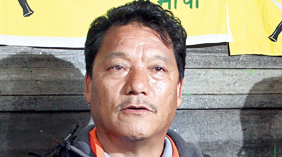 """Bimal Gurung. On Monday, the home ministry issued a corrigendum stating """"that the subject of the meeting in the heading and body of the notice may be read as """"issues to Gorkhaland Territorial Administration""""."""