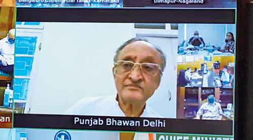 Amit Mitra attends via video conference.