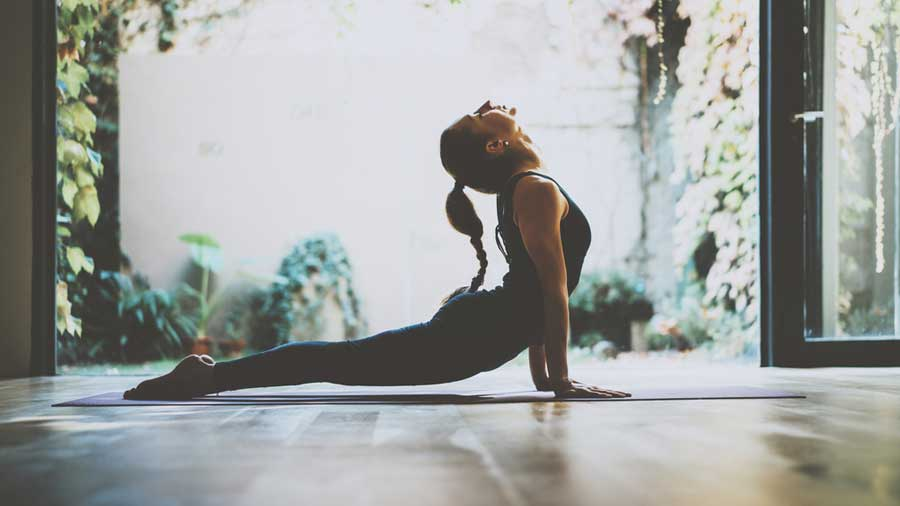 Yoga is the perfect solution for many problems