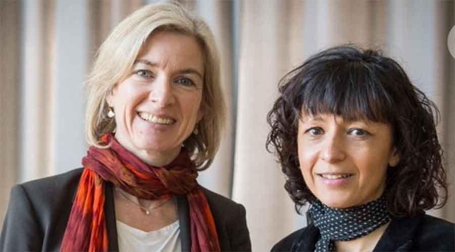 Nobel prize in chemistry for mothers of gene 'scissors'