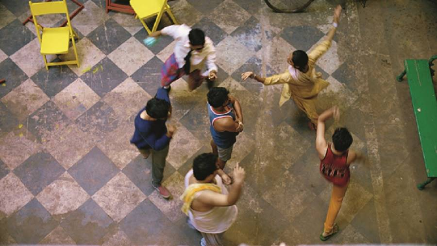 A musical moment from Saheber Cutlet, which releases in theatres this Durga Puja
