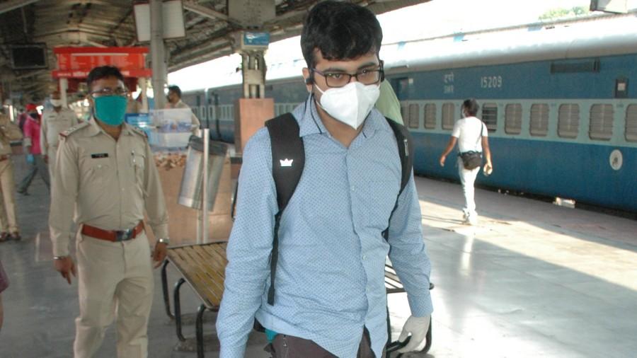 Passengers at Tatanagar railway station.