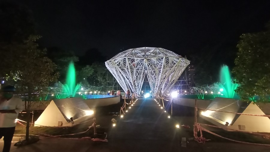 The diamond structure