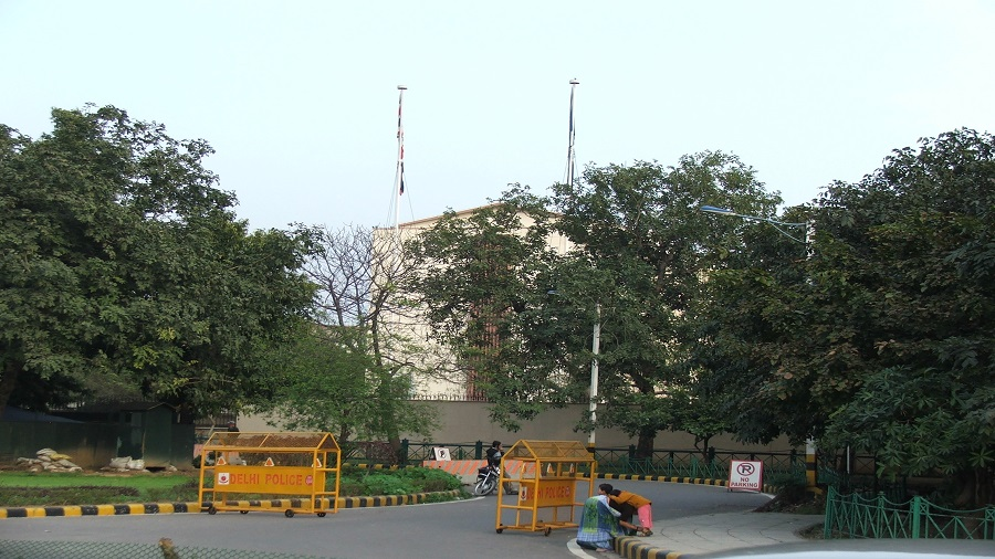 The British High Commission in New Delhi