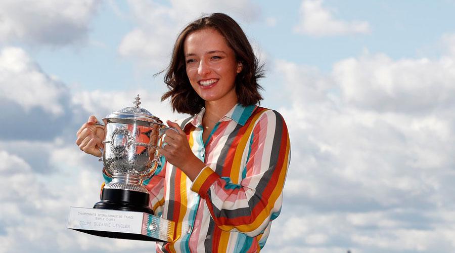 French Open: Like Rafael Nadal's trophy, Iga Swiatek hugs legacy