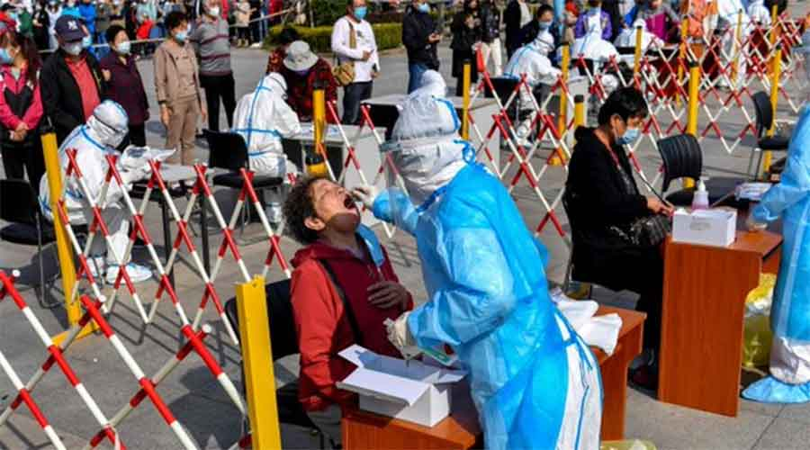 The government has previously led mass testing campaigns in Wuhan, the original centre of the outbreak, and the western region of Xinjiang.