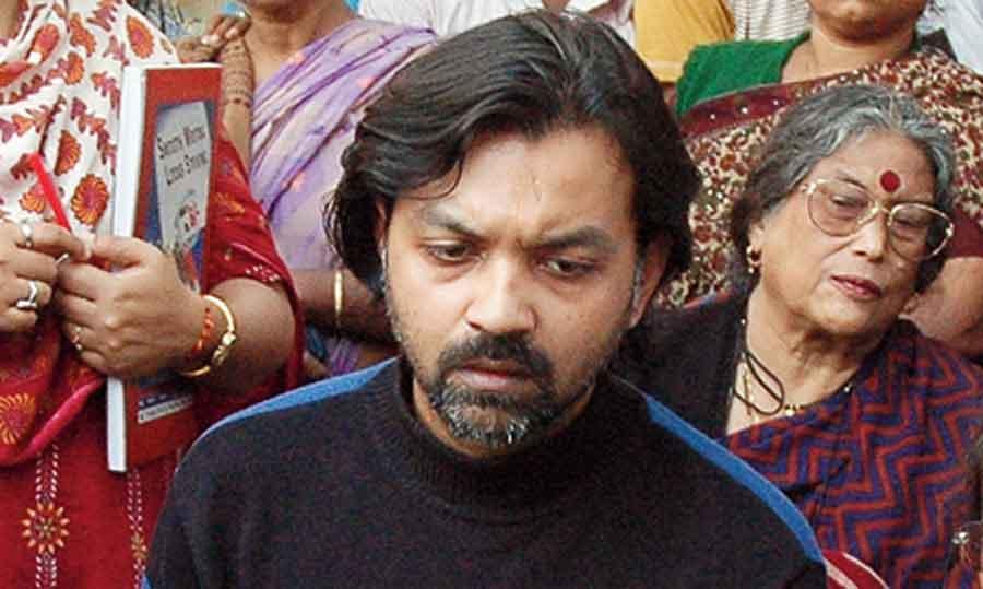 Srijit on the sets of Autograph