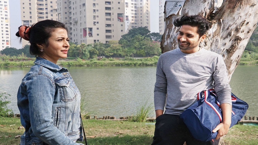 Koel Mallick and Chandan Roy Sanyal in the film, which releases on October 21 in the theatres