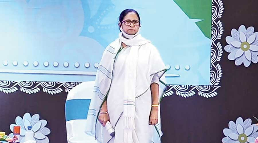 Mamata Banerjee launches 69 Durga Pujas virtually
