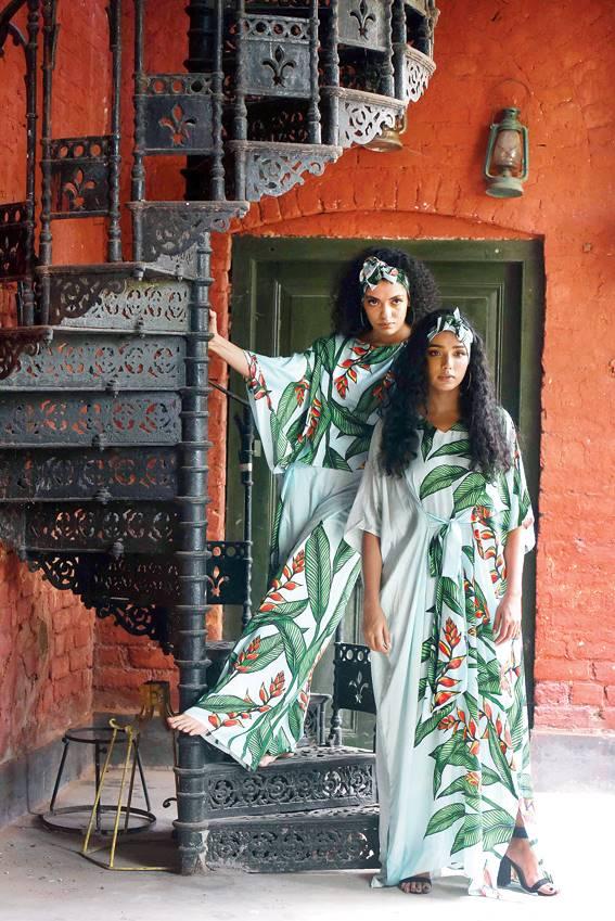 A digital show at FDCI's spring/summer 2021 Lotus Make-up India Fashion Week