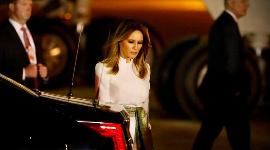 Trump's son Barron tested positive for COVID-19, says Melania Trump