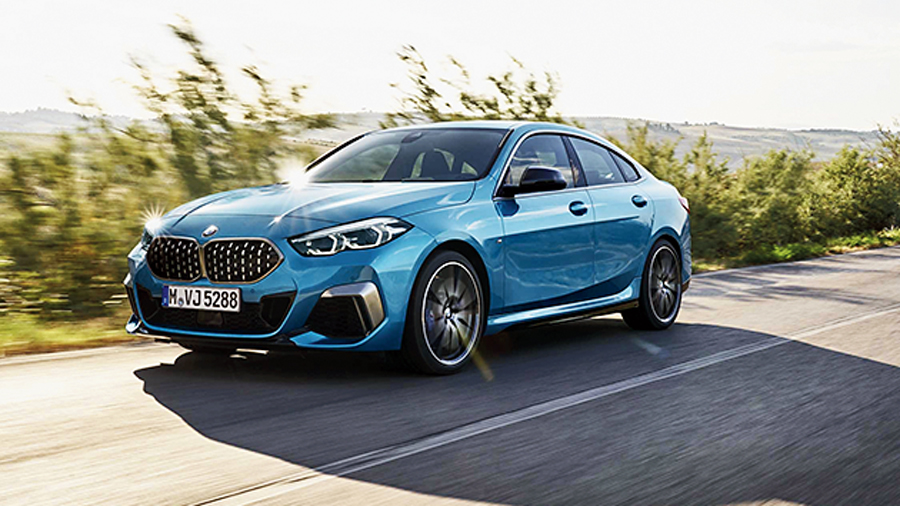 The 2 Series Gran Coupe.