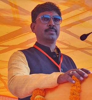 BJP leader Santosh Keshari