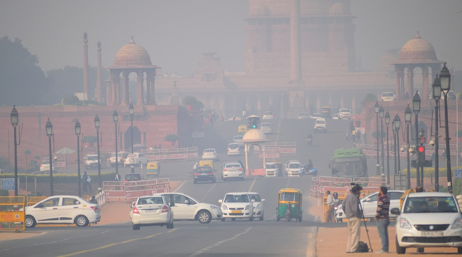 Severe air pollution in Delhi is a year-round problem, which can be attributed to unfavourable meteorological conditions, farm fires in neighbouring regions and local sources of pollution.
