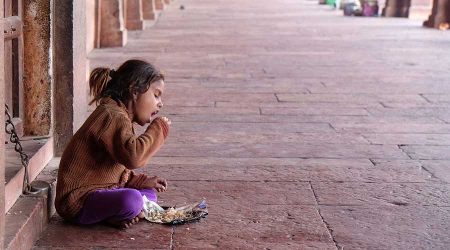 The hunger level is  calculated on four indicators: undernourishment, child wasting (children under five who have low weight for their height), child stunting (children under five who have low height for their age), and mortality rate for children under five.