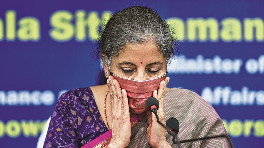 Finance minister, Nirmala Sitharaman.