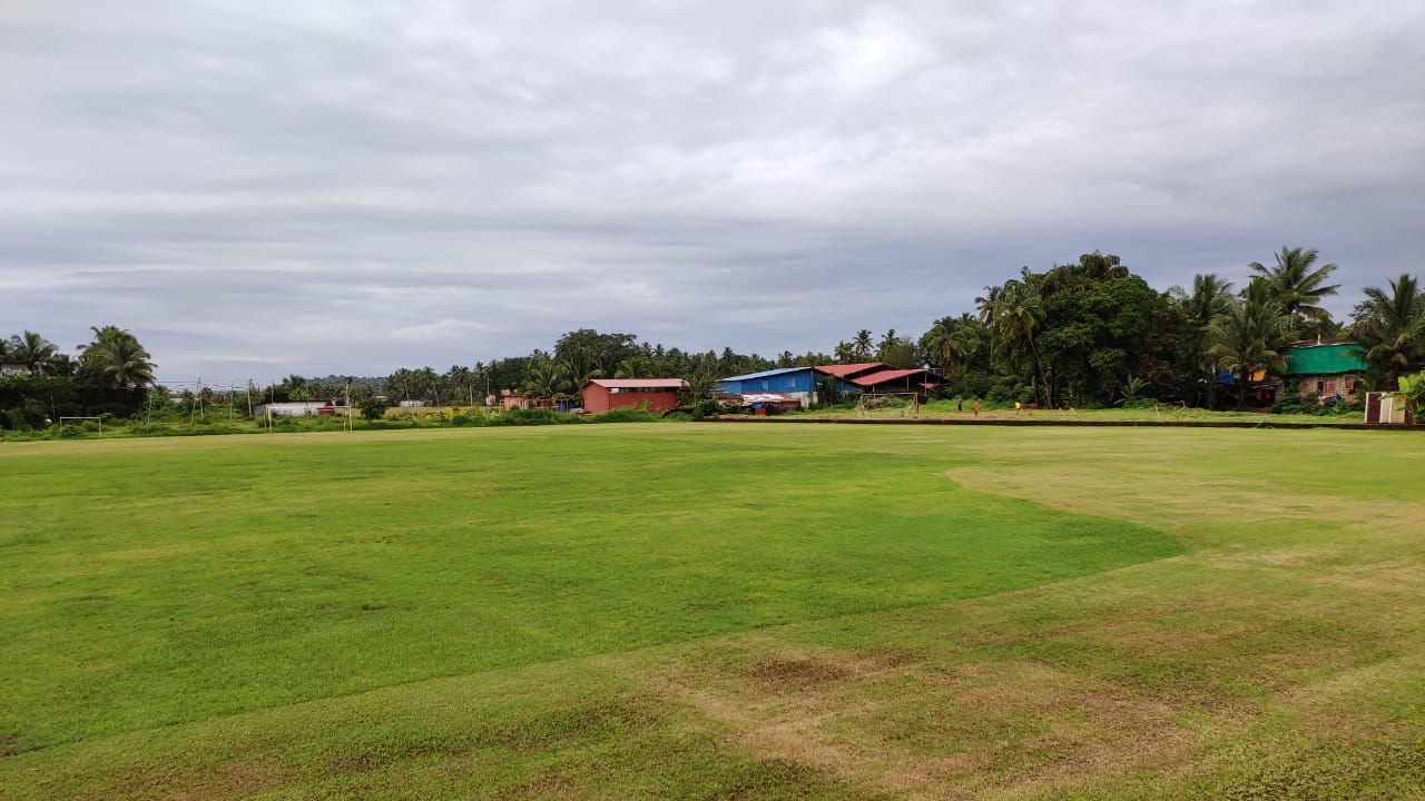 The Sangolda ground in Goa.