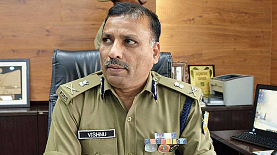 Jharkhand's director-general of police MV Rao