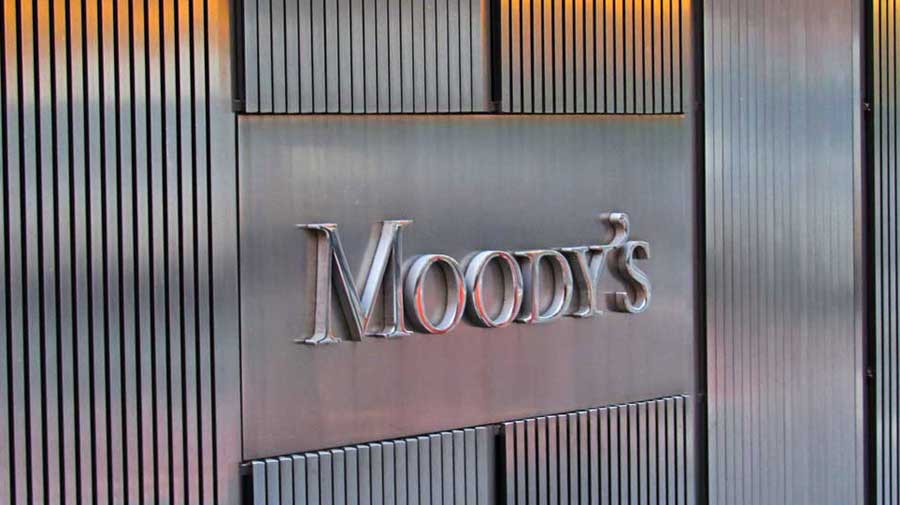 """The ratings outlook was changed to ratings under review from negative,"" Moody's said in a statement."