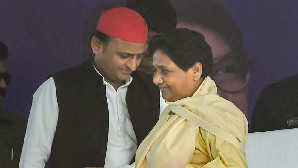 Mayawati and Akhilesh Yadav.