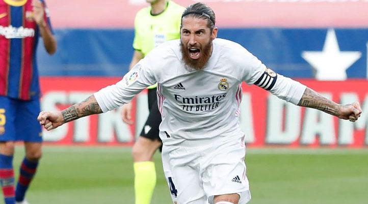 Real Madrid captain Sergio Ramos