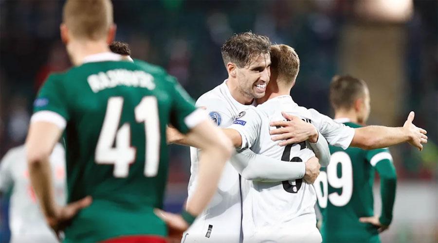 FC Bayern beat Lokomotiv Moscow 2-1 on Tuesday evening.