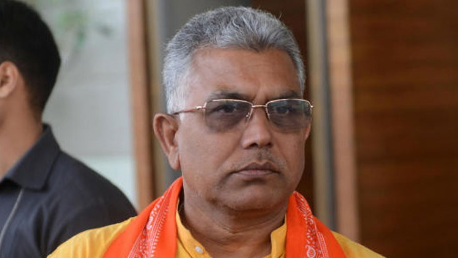 Last Thursday, panchayat pradhan Pabitra Kar and upa-pradhan Biswajit Bhuniya had received party flags in Calcutta in the presence of BJP state party president Dilip Ghosh