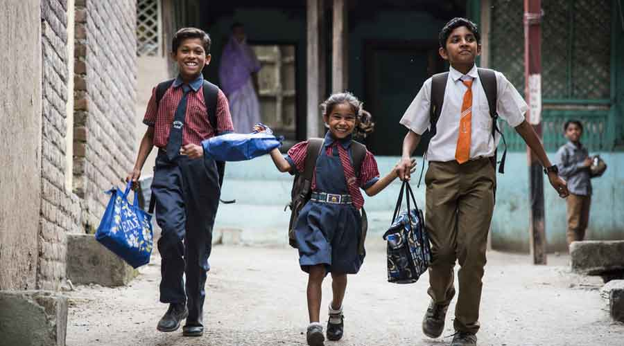The 2020 report on rural school enrolment found 66.4% of the boys and 73% of the girls on the rolls of government schools — a rise of over three percentage points