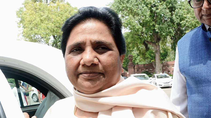 UP: Mayawati signals BJP