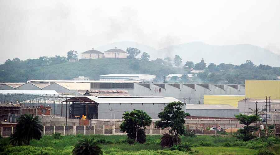 The Adityapur industrial area in Seraikela-Kharsawan district.