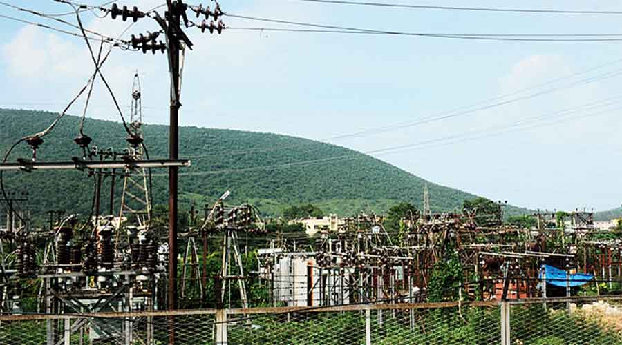 A JBVNL power substation at Mango in Jamshedpur