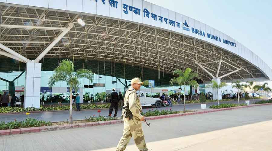 Birsa Munda International Airport in Ranchi.